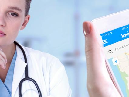 Knok: a app que chama o médico a casa e faz vídeo-consultas