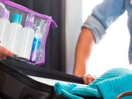 Saiba que líquidos pode levar na bagagem de mão