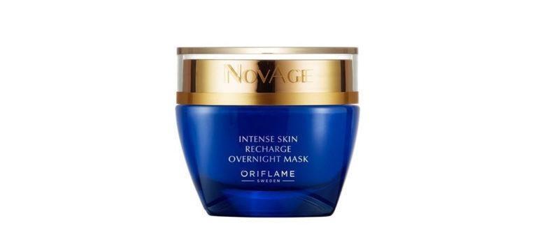 máscara de noite para a pele oriflame