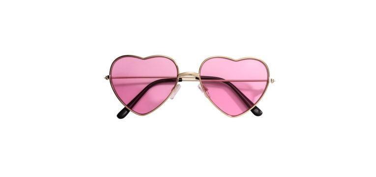 óculos de sol à Lolita rosa hm
