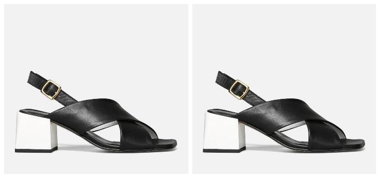sapatos consoante tipo de pé pretos