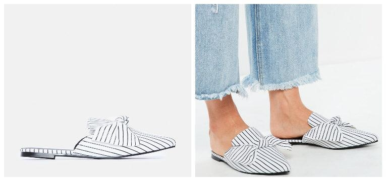 muler riscas sapatos por menos de 30€