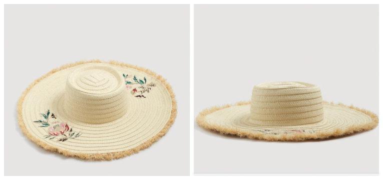 chapéus para a primavera verão flores