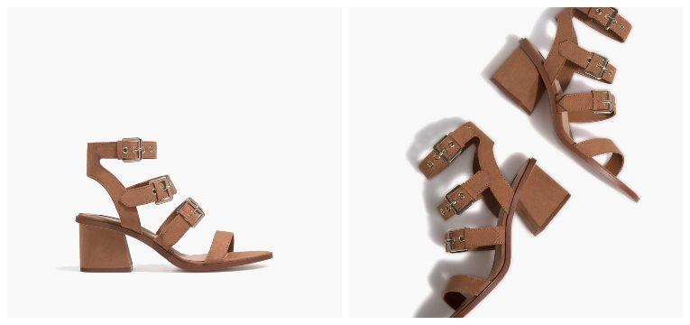 melhores sapatos por menos de 30€ sandálias castanhas