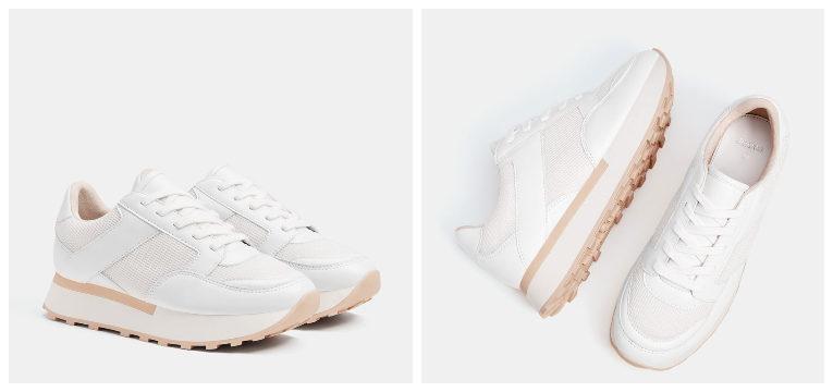 melhores sapatos por menos de 30€ ténis brancos