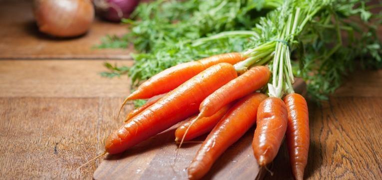 cenoura bronzeado