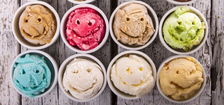 gelados na bimby