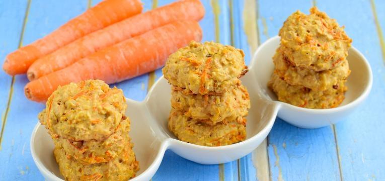 pastéis de cenoura
