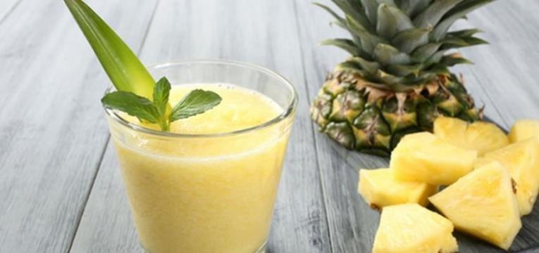sorvete de ananas