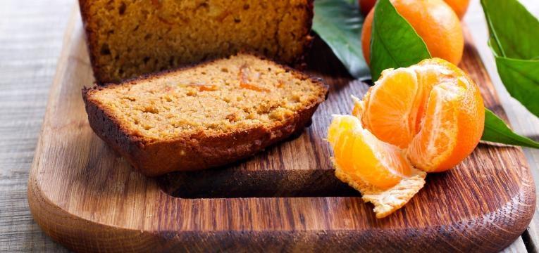 bolo de laranja low carb