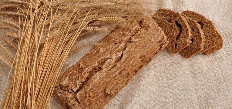 pão de batata doce e sementes