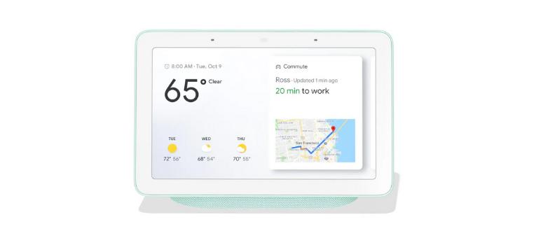 review google home hub