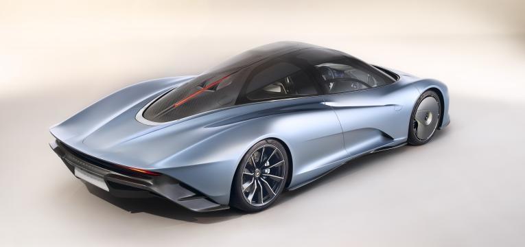 imagem exterior do McLaren Speedtail