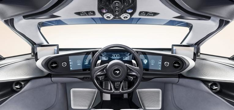 interior mclaren speedtail