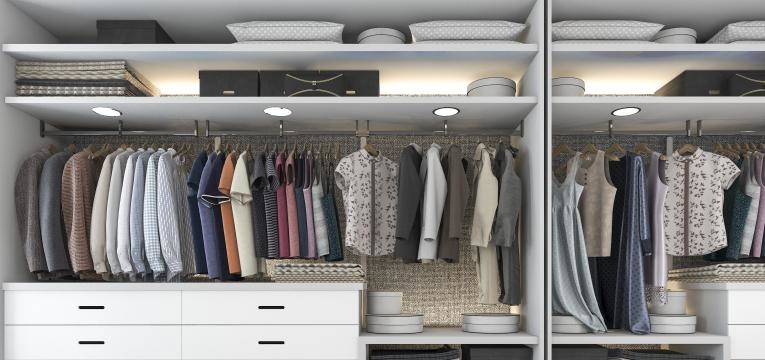 ideias closet