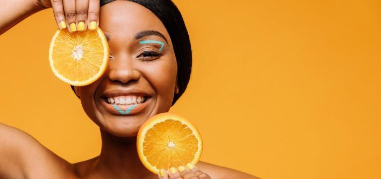 vitamina C benéfica para a pele