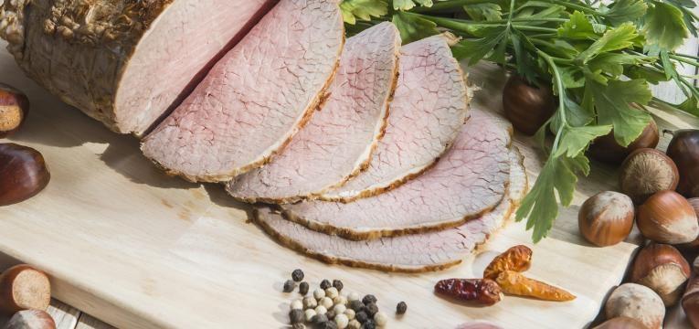 carne assada com castanha