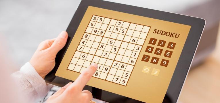 O sudoku pode ser um bom exercício mental