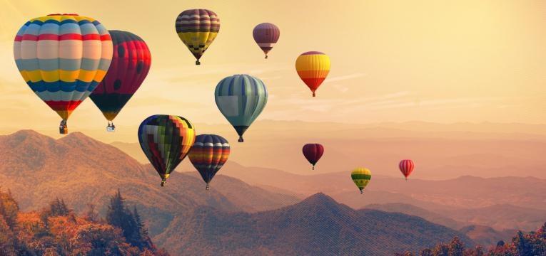 viajar balão