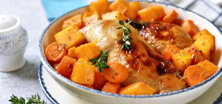 Seitan com cenoura