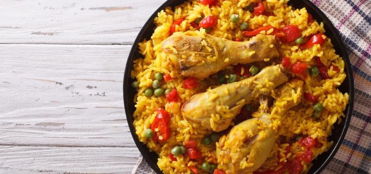 receitas de arroz de frango