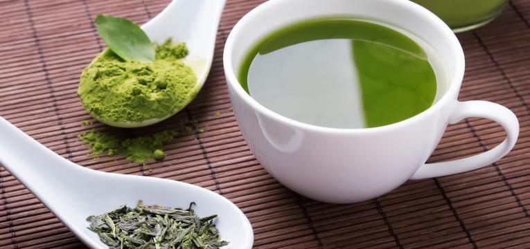 Chá verde e chá preto
