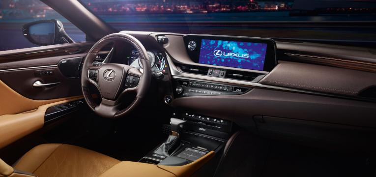 o interior do novo Lexus ES
