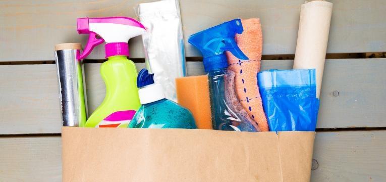 Produtos de limpeza ecológicos