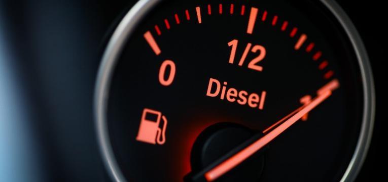 Indicador de Nível de combustível-diesel