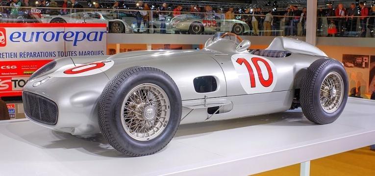 Mercedes-Benz W196 Formula 1 Racer