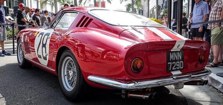 Ferrari 275 GTB/C Speciale by Scaglietti