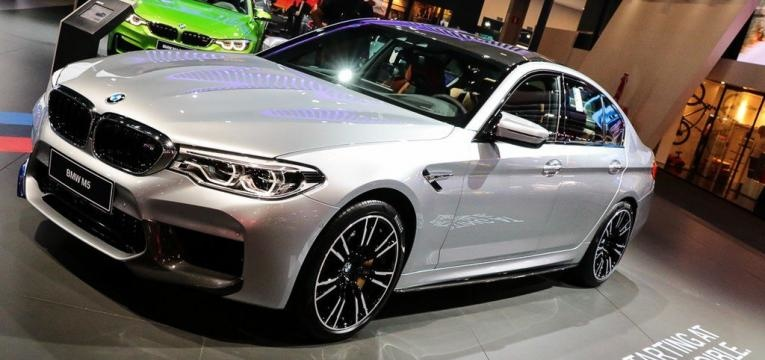 High performance version of the BMW 5-Series