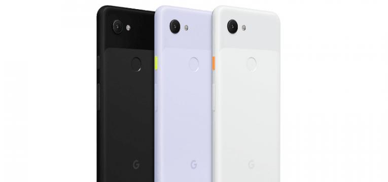 google pixel 3a tem 3 cores