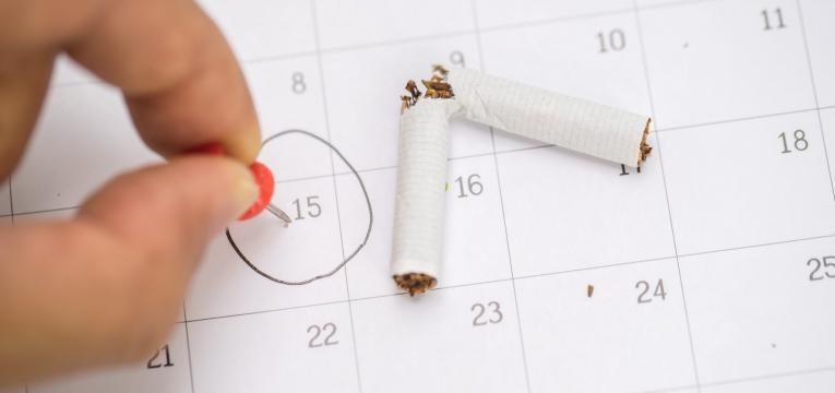 comemorar o Dia Mundial sem Tabaco