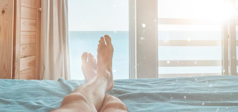 preparar a cama para o verão