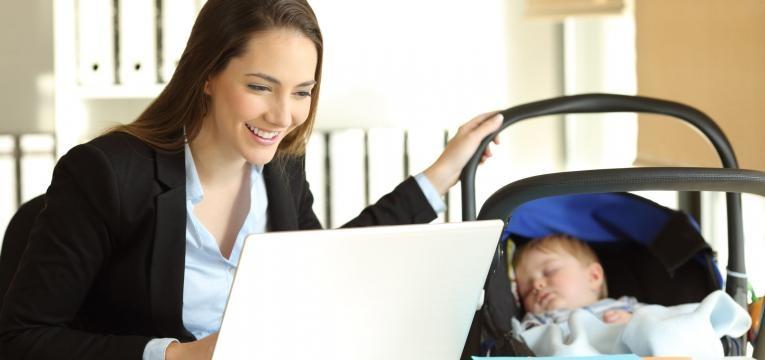 equilíbrio entre maternidade e carreira