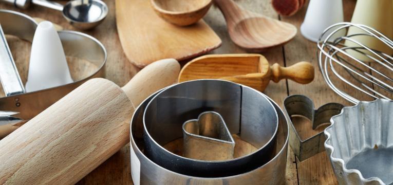 Utensílios básicos de cozinha