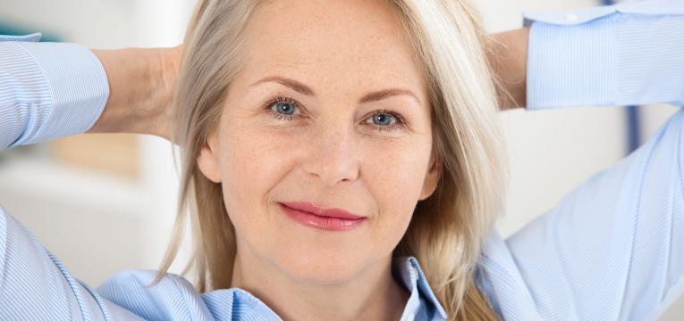 pele e a menopausa