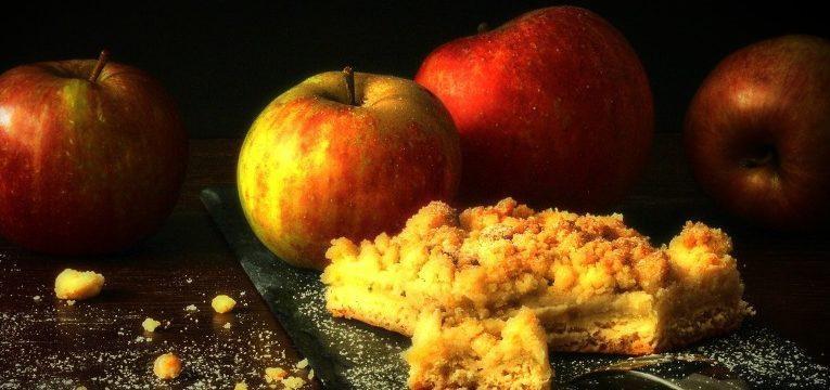 folhados de maçã
