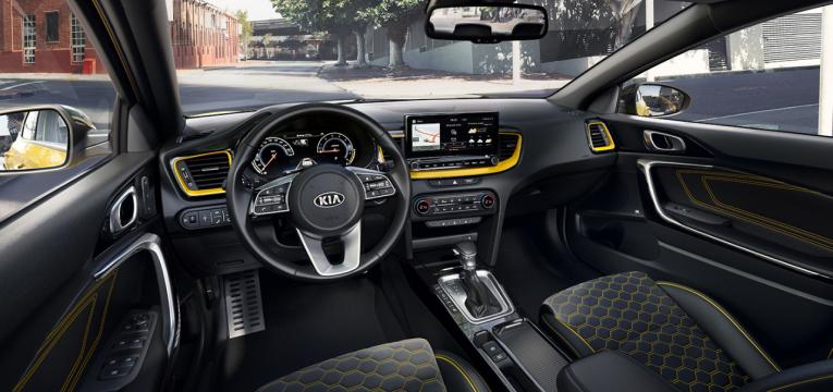 Kia XCeed design interior