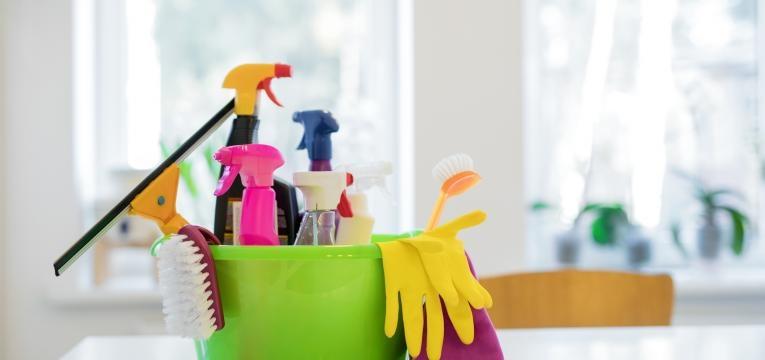 limpar casa