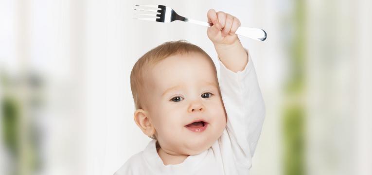 saiba tudo sobre a alimentação de um bebé de 1 ano