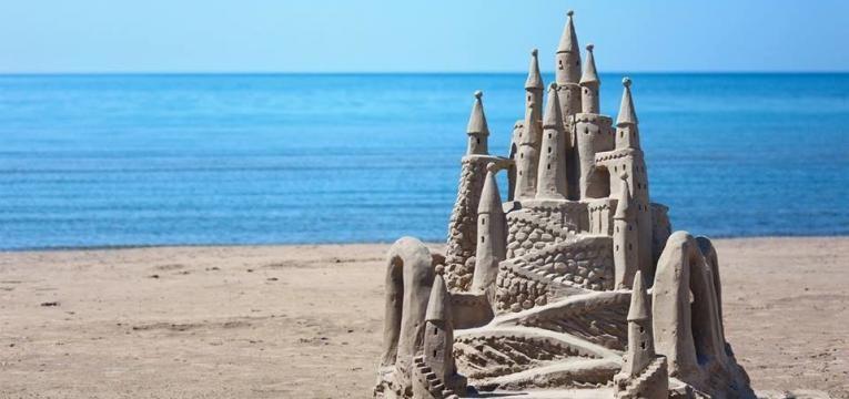 esculturas areia