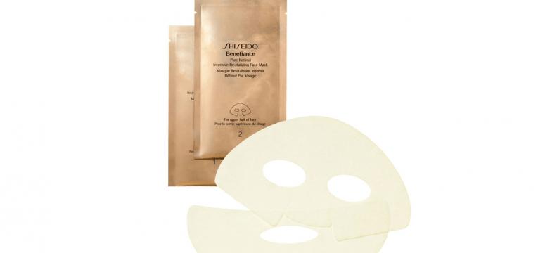 máscara facial Shiseido