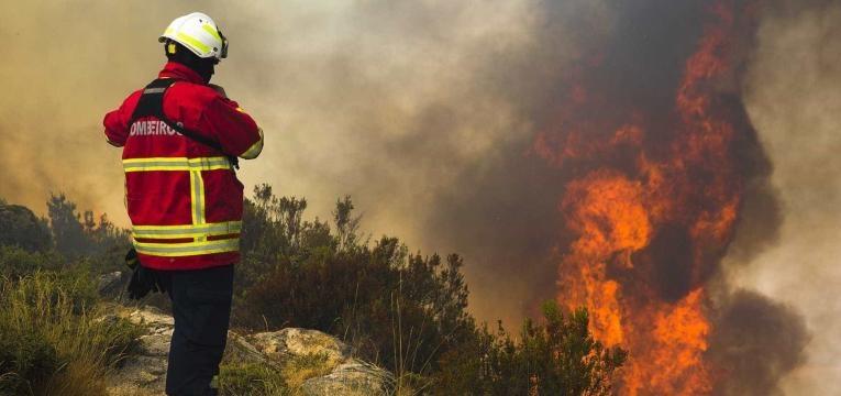 zonas do pais com mais riscos de incendios