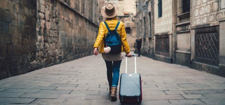 viajar para um destino desconhecido
