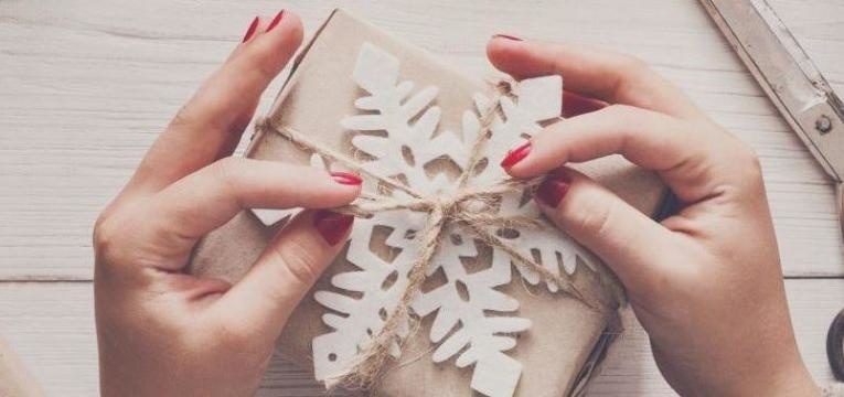 embrulhar presentes
