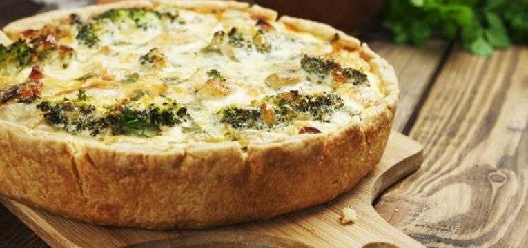 quiche de legumes light