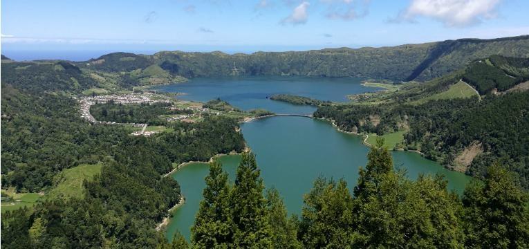 Lagoa das Sete Cidades, Ponta Delgada