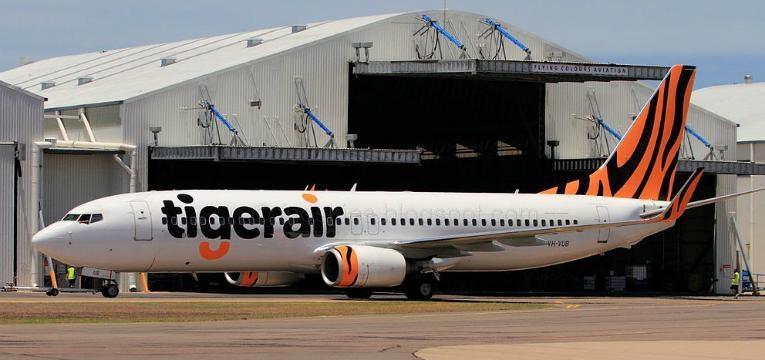 Avião da Tigerair